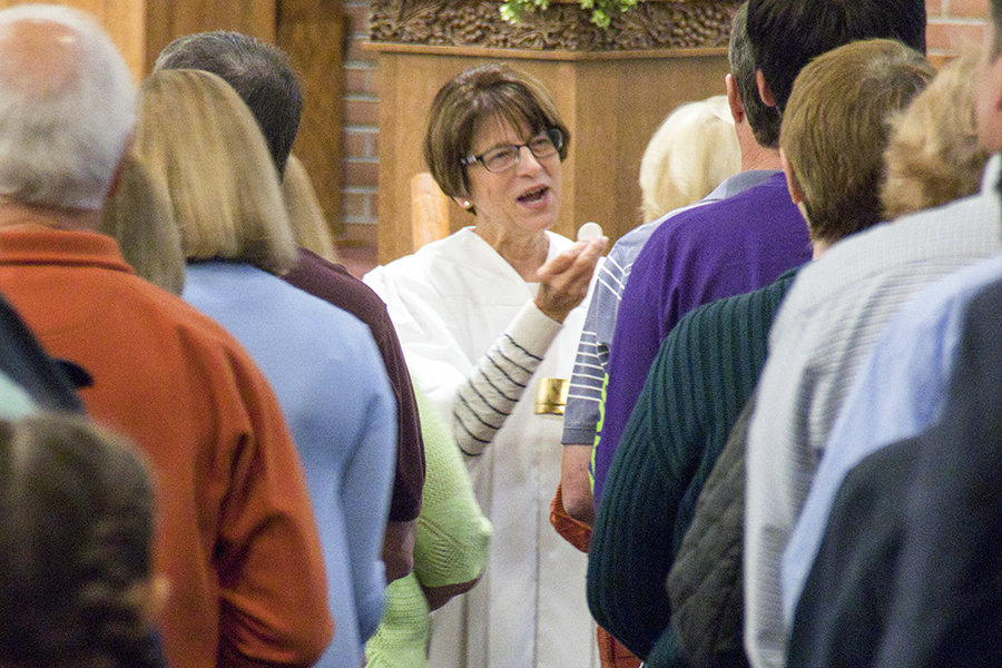 Eucharist minister